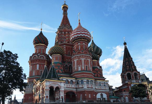 Photo of St. Petersburg church