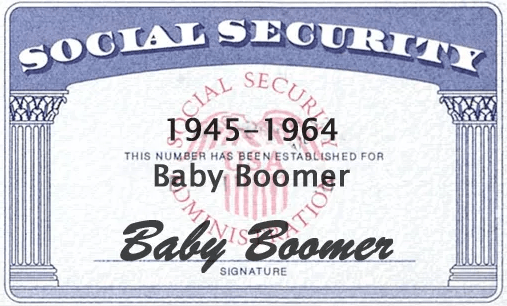 picture of a social security card