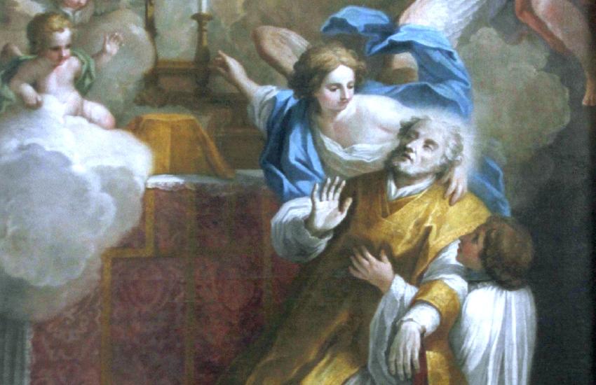 Saint Andrew of Avellino by Anton Maria Garbi (16th-century)