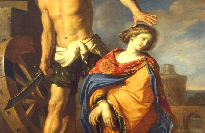 Guercino - Martyrdom of St. Catherine