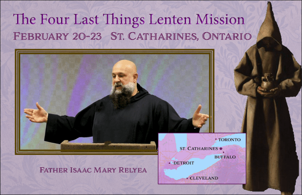 Lenten Mission on The Four Last Things