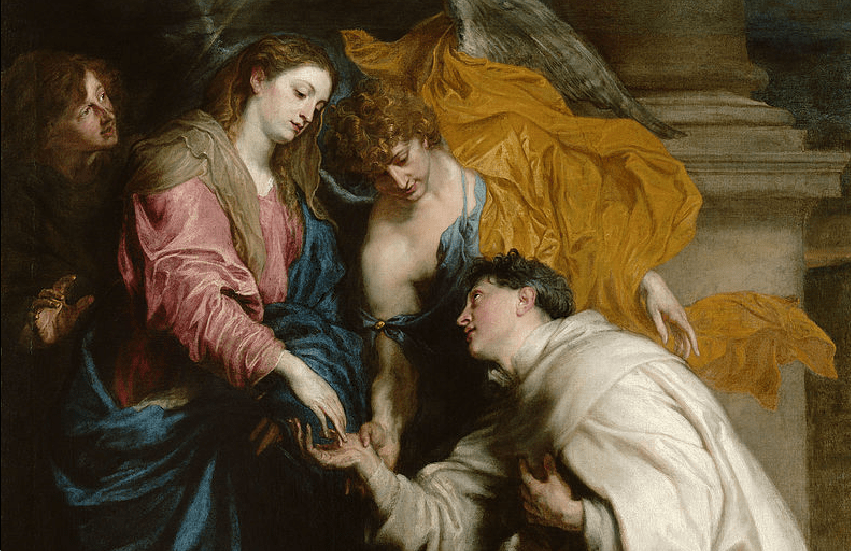 Blessed Joseph Herman Vision by Anton Van Dyck