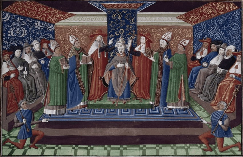 Coronation of a Pope