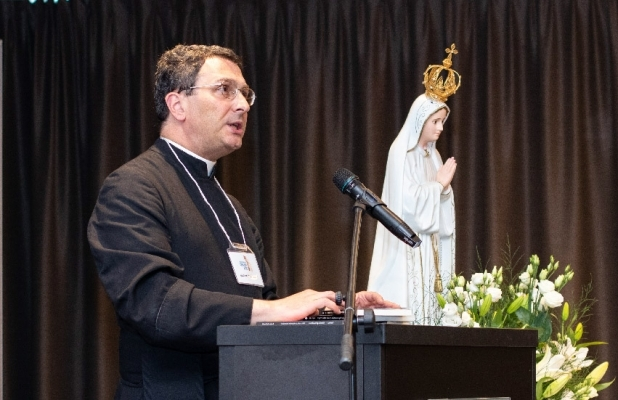 Fr. Stehlin at The Fatima Center's Poland Conference 2019