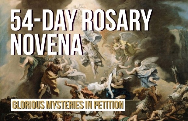 54-Day Rosary Novena: Glorious Mysteries in Petition