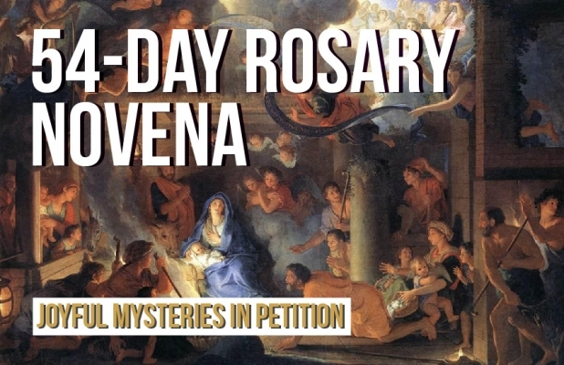 54-Day Rosary Novena: Joyful Mysteries in Petition