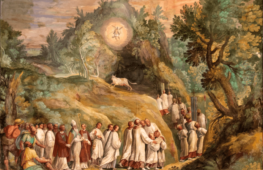 Apparition of St. Michael the Archangel at Monte Gargano