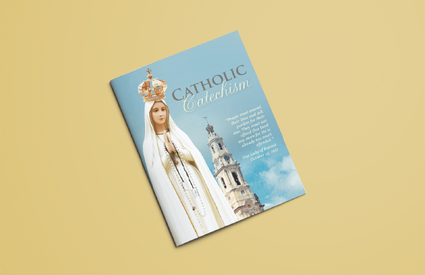 The Fatima Center's Catholic Catechism Booklet