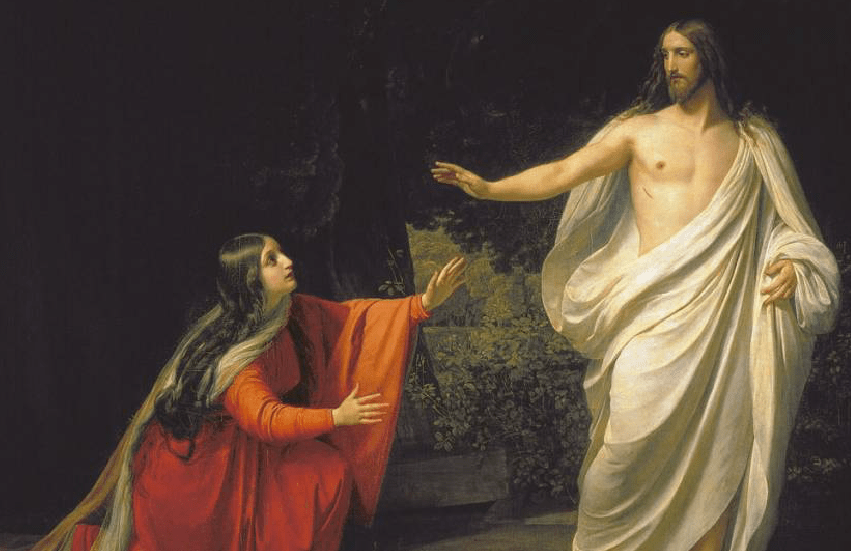 Appearance of Jesus Christ to Mary Magdalene by Alexander Andreyevich Ivanov.