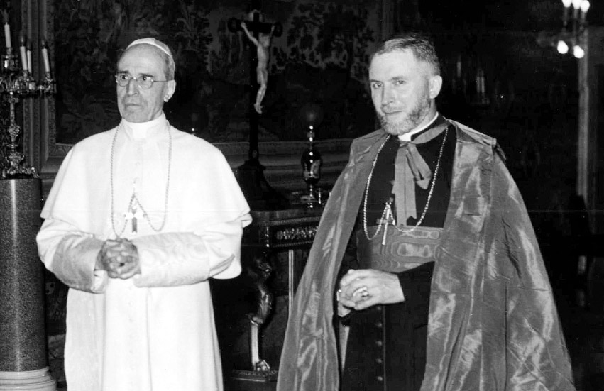 Pope Pius XII and Archbishop Marcel Lefebvre