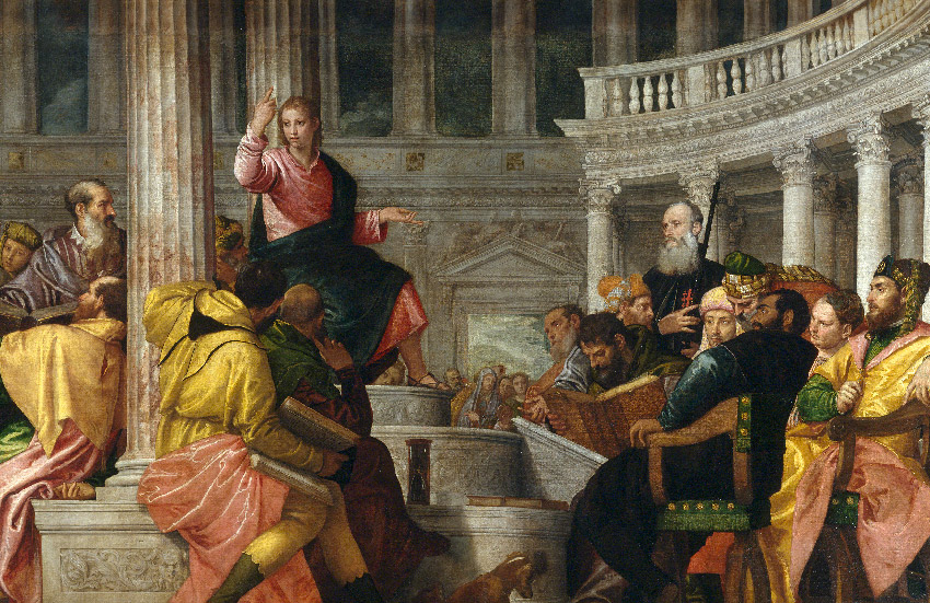 Christ among the Doctors, c. 1560, by Paolo Veronese