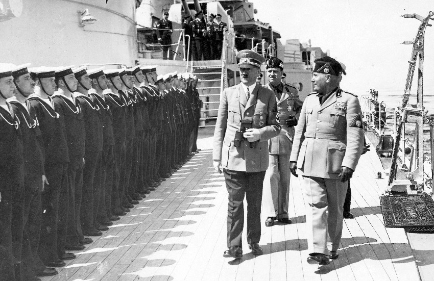 Adolf Hitler during WWII
