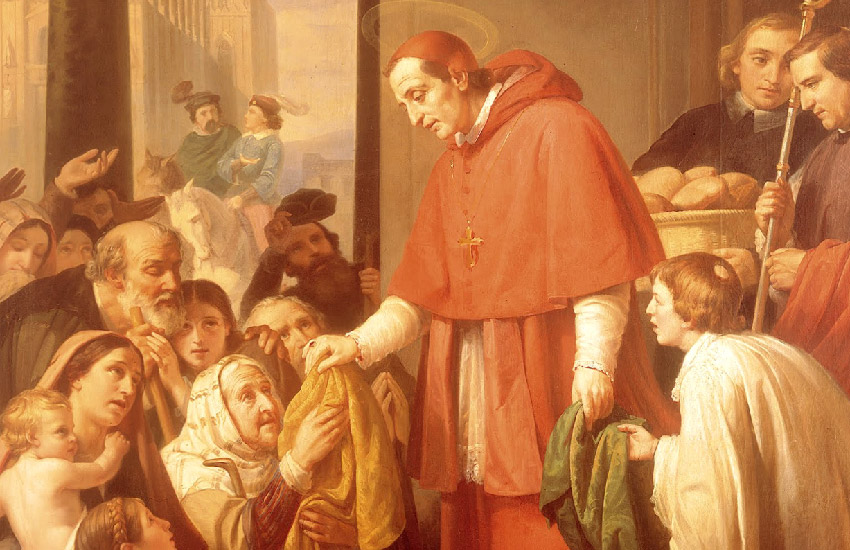 José_Salomé_Pina_-_Saint_Charles_Borromeo_Handing_out_Alms_to_the_People