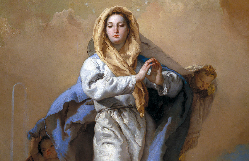 The Immaculate Conception by Giovanni Battista Tiepolo, 1767-1769