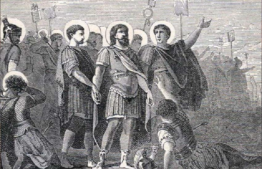 Saint Marius and the Companions