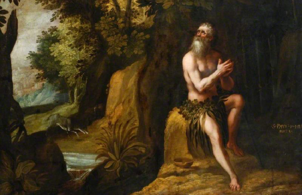 Saint Paul the First Hermit