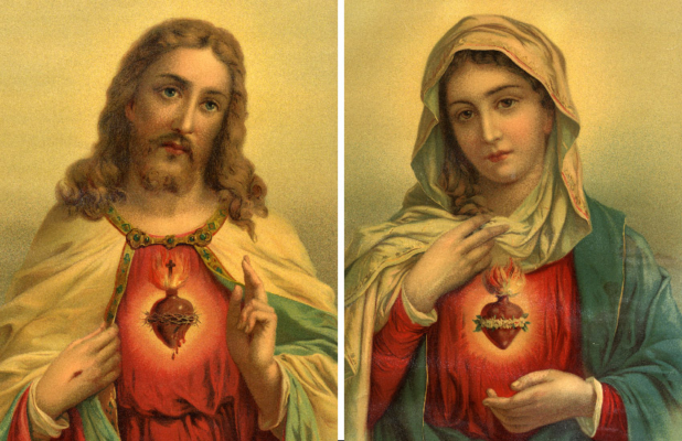 Sacred Heart and Immaculate Heart of Mary