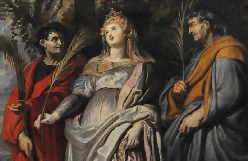 Sts. Nereus Achilleus, Domitilla and Pancras
