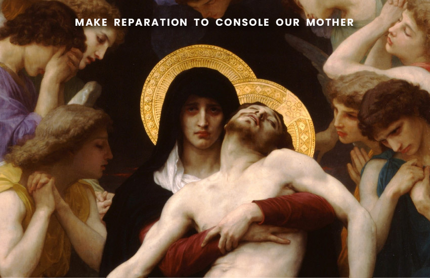 Our Lady of Sorrows with Our Lord